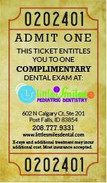 Complimentary Exam Ticket V1-01