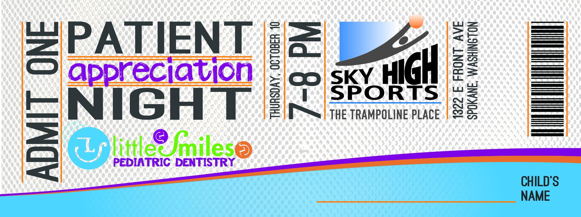 Little Smiles Ticket 7-8 pm-01