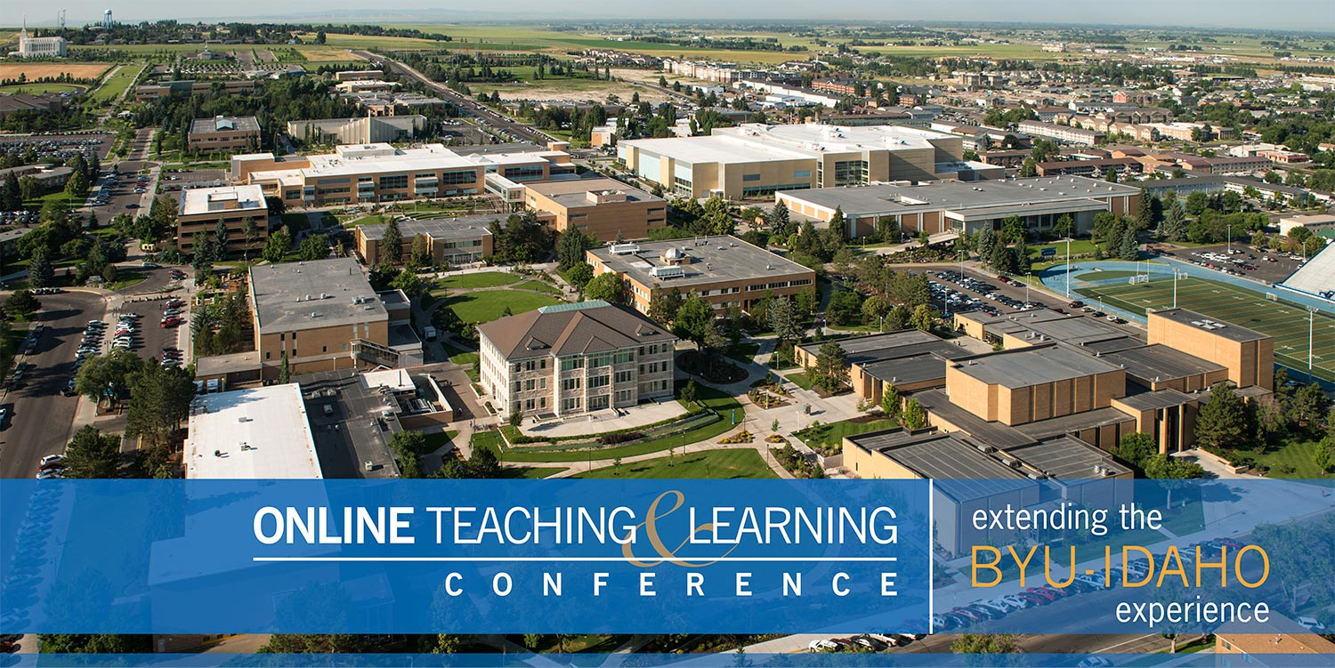 BYUI Online Learning Conference Banners
