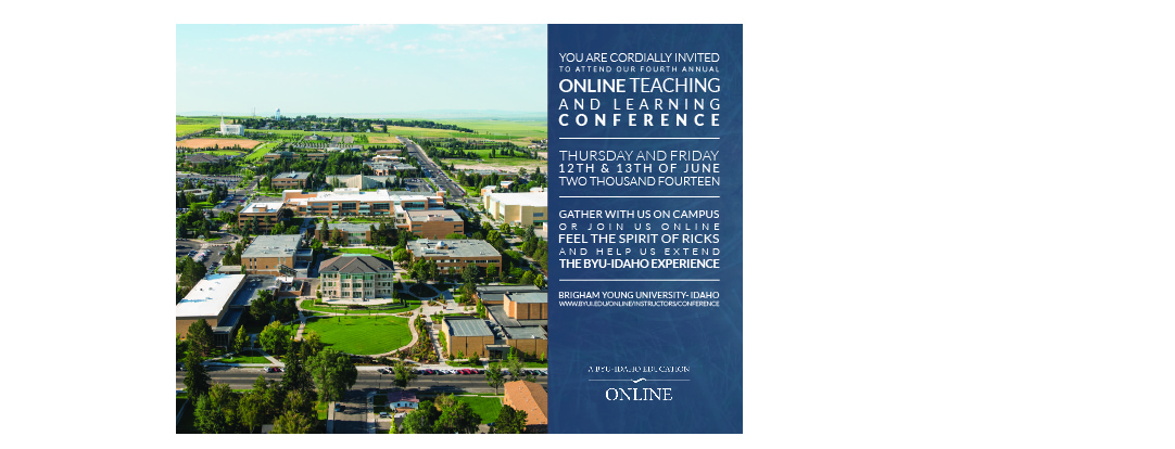 Online Learning Conference Invitation