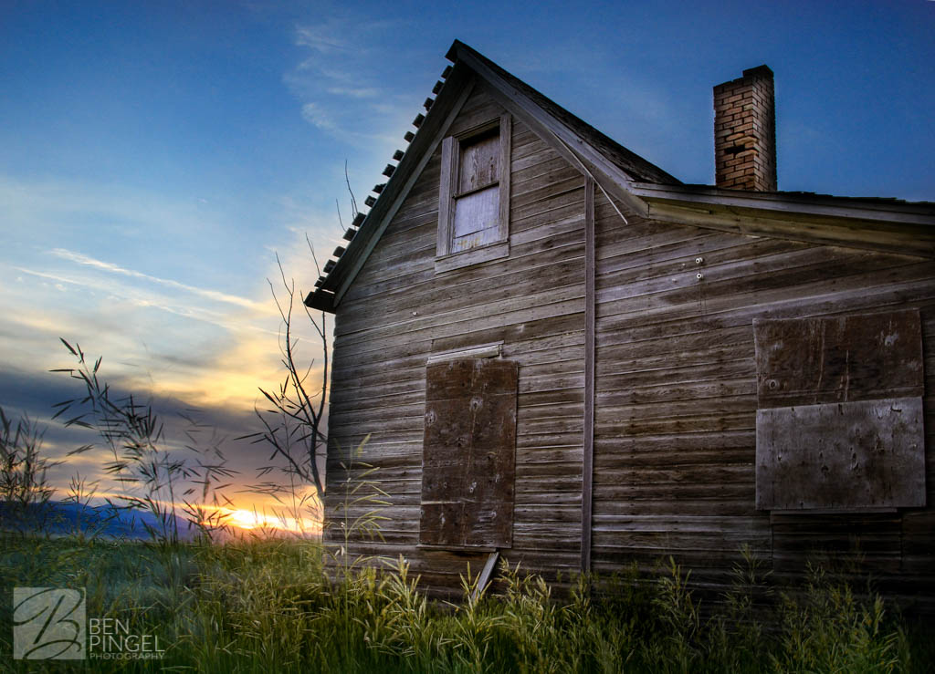 Barns and Abandoned Homes: Soda Springs & Grace, Idaho