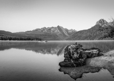 Redfish Lake: Gorgeous Mountain Scenery