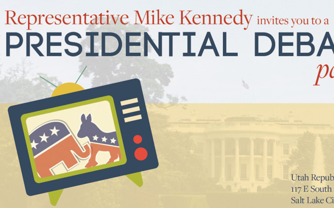 Presidential Debate Invitation