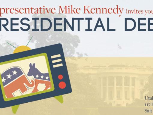 Presidential Debate Invitation