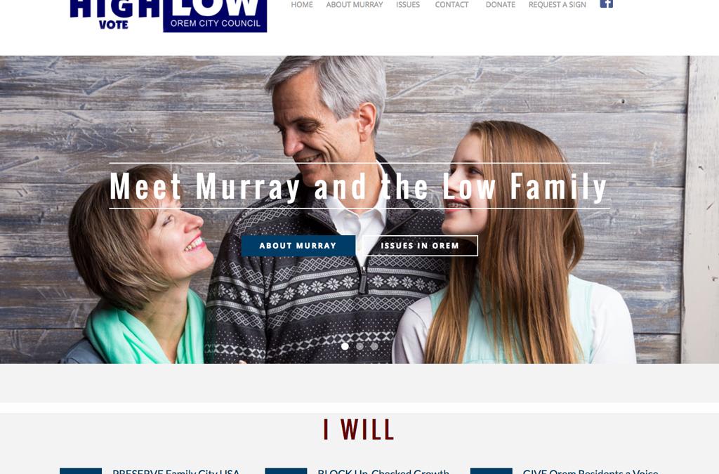 Murray Low City Council Website