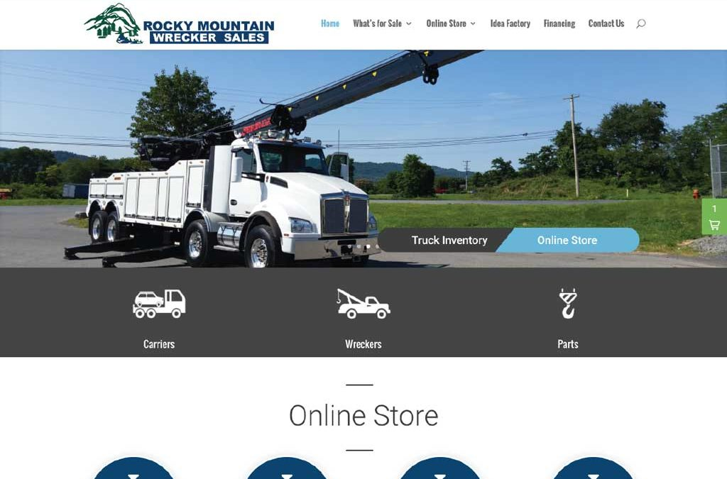 Rocky Mountain Wrecker Site Redesign