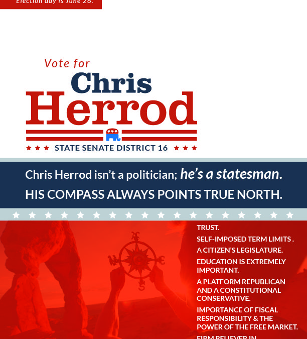Chris Herrod Political Campaign Design