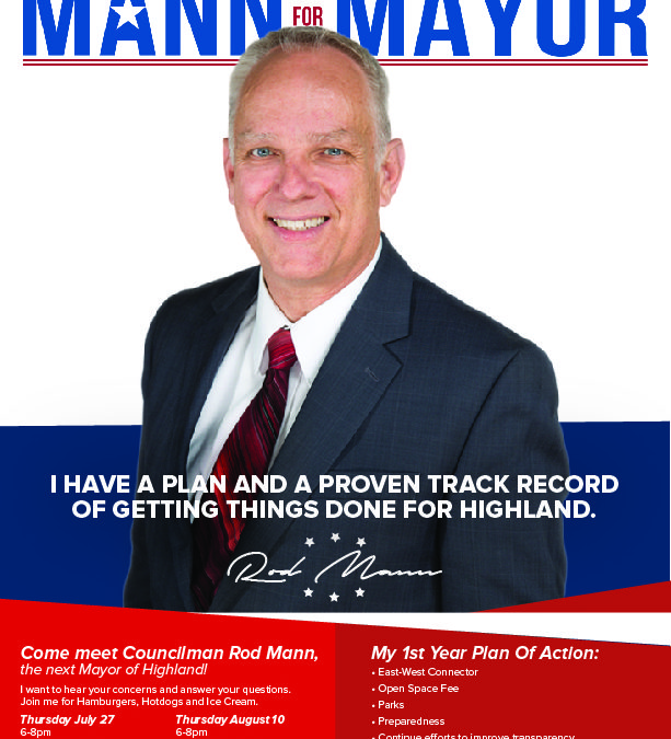 Rod Mann for Mayor