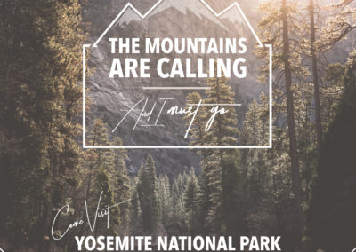Yosemite National Park Personal Design Project