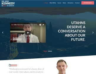 Kennedy for Senate Campaign Site